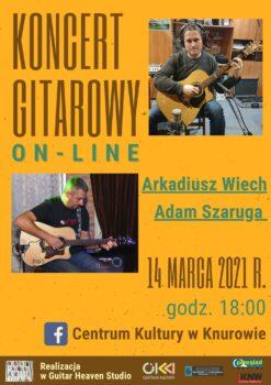 Plakat Koncertu gitarowego