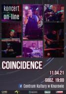 Koncert COINCIDENCE online @ Górnicza 1