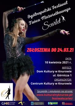 Plakat Festiwalu Scarlet