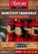 Warsztaty tworzenia marionetek @ Tężnia solankowa